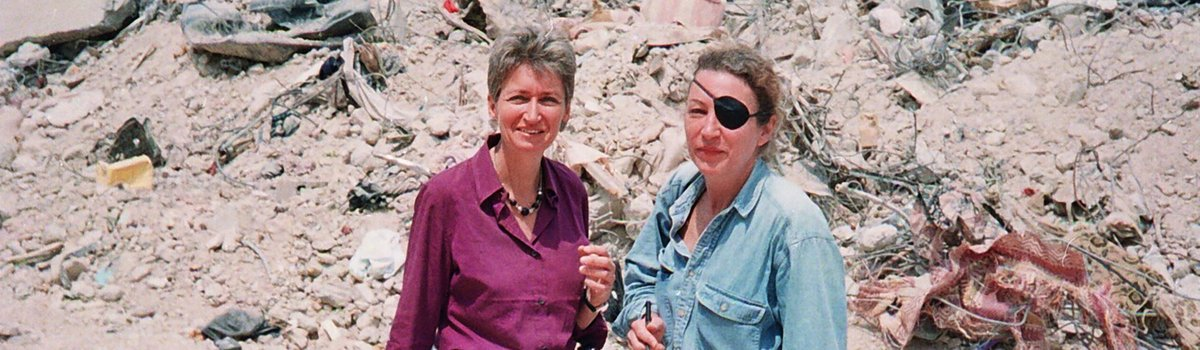 ABOUT US Marie and Lindsey in Jenin c Paul Moorcraft.jpg